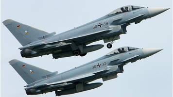 germany crash: two eurofighter jets collide near base