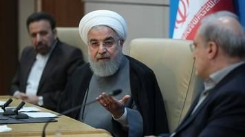 iran's rouhani: new sanctions show us is 'full of lies'