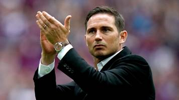 frank lampard: chelsea given permission to hold talks with derby manager