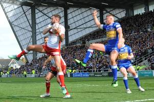 magnitude of hull kr game at leeds rhinos underlined as sky swerve st helens v wigan to show rovers