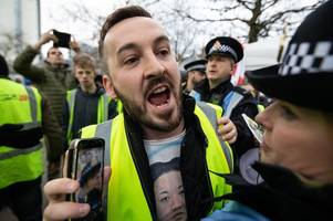 pro brexit 'yellow vest' protester james goddard guilty of assaulting photojournalist at demo
