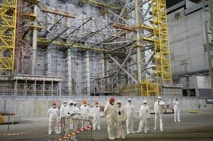 scots workers help ensure chernobyl nuclear reactor can't spread deadly poison any further