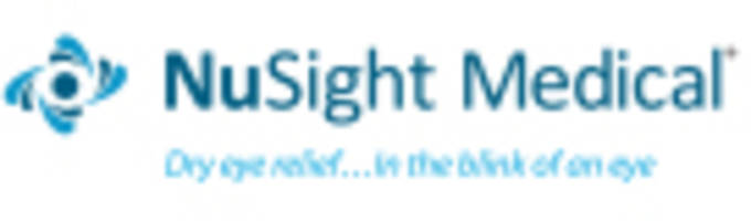 NuSight Medical Announces Issuance of U.S. Patent Covering the NuLids System® for Treating Dry Eye Disease