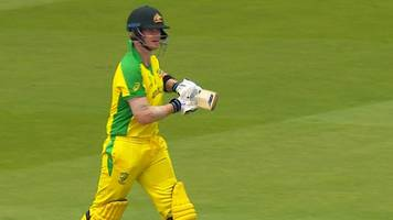 cricket world cup: australia's steve smith is booed as he walks to the crease against england