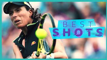 eastbourne: jokonta defeats sakkari - best five shots