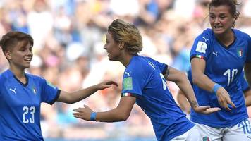 italy beat china to reach women's world cup quarter-finals