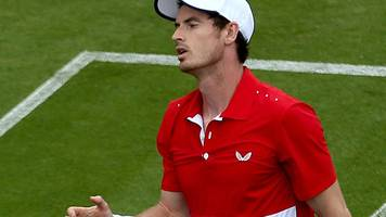 murray suffers first defeat since comeback in eastbourne doubles