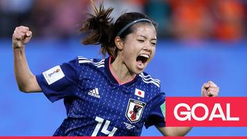 women's world cup 2019: hasegawa equalises for japan against run of play