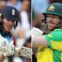Cricket World Cup live commentary and updates: England v Australia