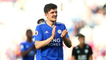 Harry Maguire Wants Manchester City Move as Leicester Play Hardball Over Proposed Fee