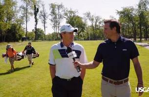 40th u.s. senior open: walk and talk with 2-time u.s. open champ lee janzen
