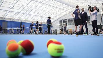 lawn tennis association to spend £250m on 96 new uk indoor centres