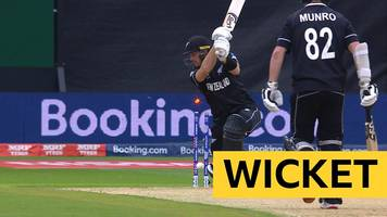 Cricket World Cup: New Zealand lose Martin Guptill against Pakistan