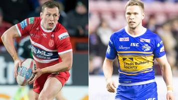 shaun lunt and matt parcell switch clubs as leeds rhinos and hull kr agree swap