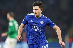 Manchester United 'hold talks' with cheaper alternative to Leicester City's Harry Maguire