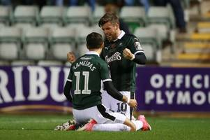how plymouth argyle did all they could to keep graham carey and ruben lameiras