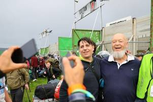 glastonbury festival 2019 first look at worthy farm as thousands pitch up - live updates