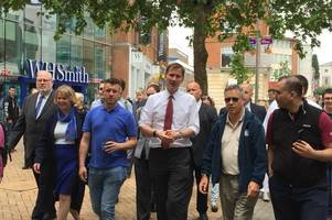 Live updates as Jeremy Hunt arrives in Chelmsford on campaign trail to become UK's next Prime Minister