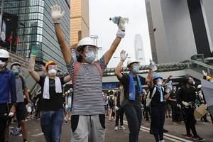 hong kong extradition bill: top officials matthew cheung and john lee reject calls for independent ...
