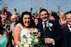 Hamilton Advertiser's Wedding of the Week: Victoria Gebbie and Alan Moore