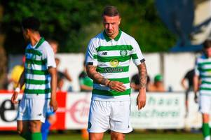 leigh griffiths sent celtic message by neil lennon after striker marks return with a goal