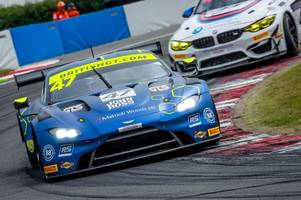 scots triumph in style at the british gt at donington park
