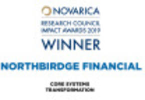 northbridge financial's core systems transformation selected by 50 insurer cios for novarica research council impact award