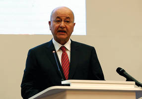 Iraqi president: we cannot afford another conflict, enough is enough