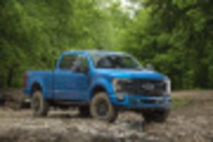 2020 ford super duty gets tremor off-road package with available 7.3-liter v-8