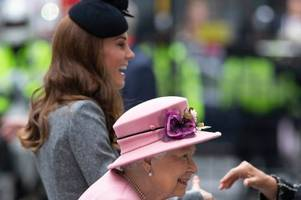 queen 'isn't close' to kate middleton and 'treads carefully' with meghan markle