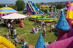 huge inflatable theme park comes to bodmin with bouncy castles, slides and soft play