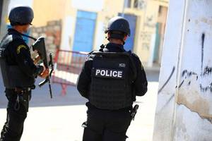 tunis attacks: two suicide bombers trigger explosions in heart of tunisia capital