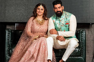 south actor kabir duhan singh gets engaged to singer dolly sidhu