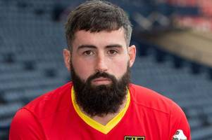 albion rovers captain opens up on how money impacts mental health in football