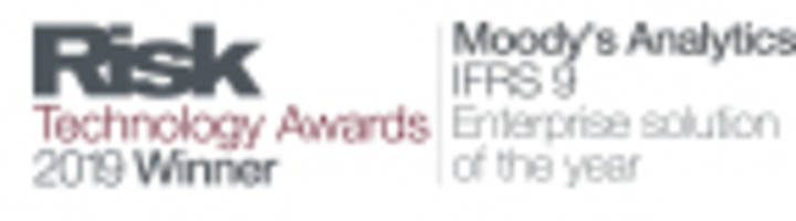 moody's analytics wins two risk technology awards for its ifrs 9 solutions