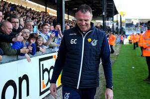 bristol rovers announce friendly and training camp in graham coughlan's home city of dublin
