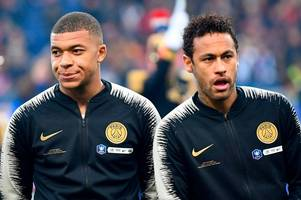 kylian mbappe makes surprise neymar request in psg ultimatum - latest transfer rumours