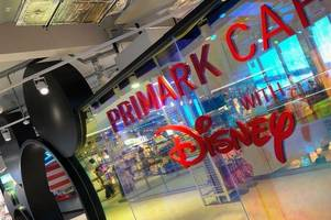 'mickey' mouse sighting closes down disney-themed café at the world's biggest primark for deep clean