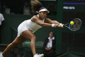 naomi osaka crashes out of wimbledon first round in straight sets