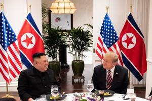 north korea state media hails trump-kim meeting as victory for peace