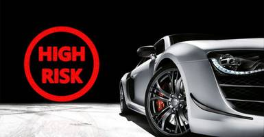what type of drivers are considered high-risk by car insurance companies?