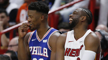 jimmy butler finally headed to miami as part of four-team mega deal