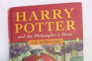 harry potter first edition bought for £1 at a table top sale in staffordshire set to make £30,000 at auction