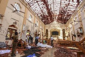top government officials arrested in sri lanka over inaction before easter bombings