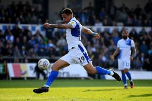 how bristol rovers could line up against blackpool if graham coughlan secures attacking targets
