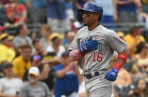 robel garcia crushes first-career home run in cubs dominate performance over the pirates