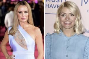 holly willoughby and amanda holden set for 'showdown talks' over phillip schofield row