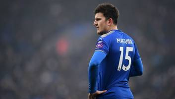 exclusive: man utd lead harry maguire chase as man city refuse to meet leicester's asking price