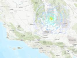 incredible videos show california's biggest earthquake in 20 years rippling across north america