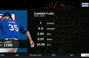 Lance Lynn Gets Going, Findiing his Rhythm in . 9-3 win | Rangers Live